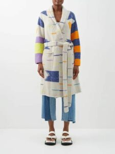 Petar Petrov - Barry Snake Print Silk Blouse - Womens - Green Print