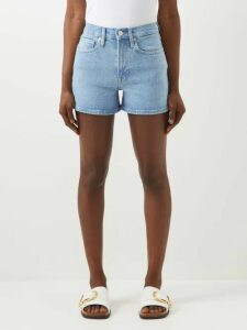 Vita Kin - Velvet Rose Floral Embroidered Linen Blouse - Womens - Black Red