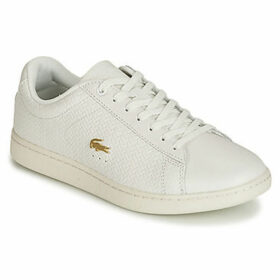 Lacoste  CARNABY EVO 119 3  women's Shoes (Trainers) in White