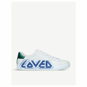 New Ace leather trainers