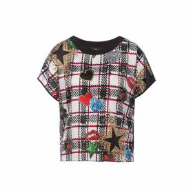 Nissa - Pop Art Printed Viscose Top