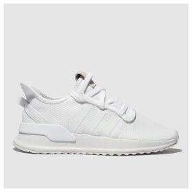 Adidas White U_path Trainers