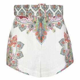Zimmermann Ninety Six Filigree Shorts