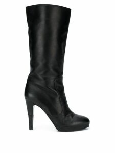 Chanel Pre-Owned mid-calf boots - Black
