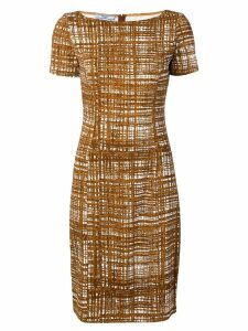 Prada Pre-Owned 2000's fitted dress - Brown