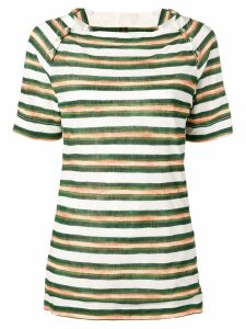 Louis Vuitton 2000's pre-owned striped T-shirt - Green
