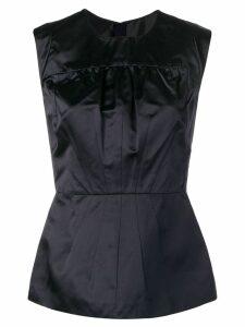 Prada Pre-Owned 2000's peplum top - Black