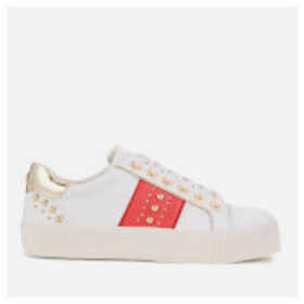 Carvela Women's Lexicon Low Top Trainers - White - UK 8 - White