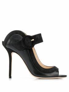 Jimmy Choo Hutch 100 sandals - Black