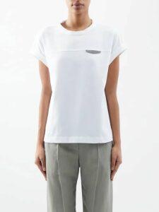 Mansur Gavriel - Fringe Mini Polka-dot Leather Bag - Womens - Red White