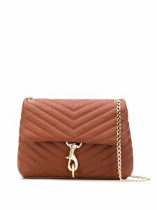 Rebecca Minkoff Edie cross body bag - Brown