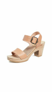 No.6 Two Strap High Heel Clogs
