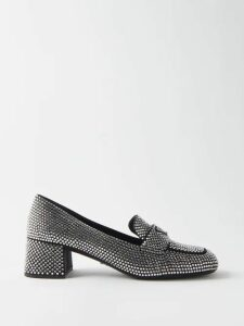 Chloé - Balloon Sleeve Abstract Jacquard Top - Womens - Red White