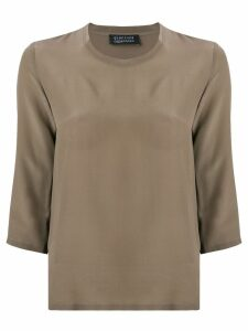 Gianluca Capannolo classic slim-fit blouse - Brown