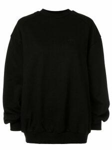 Juun.J dinosaur print sweatshirt - Black