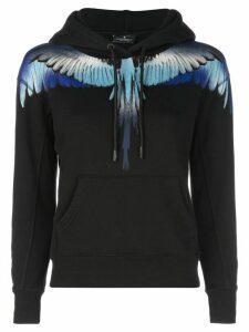 Marcelo Burlon County Of Milan wings hoodie - Black