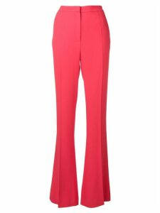 Giambattista Valli bootcut trousers - Red