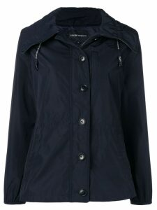 Emporio Armani hooded jacket - Blue