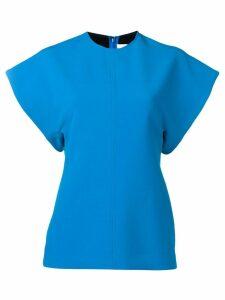 Victoria Victoria Beckham turquoise short sleeve top - Blue