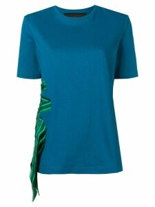 Mr & Mrs Italy band appliqué T-shirt - Blue
