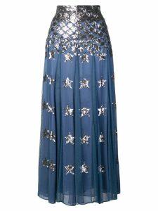 Temperley London Starlet skirt - Blue