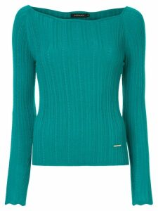 Loveless ribbed jumper - Green