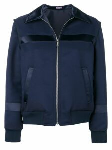 Sueundercover navy fitted bomber jacket - Blue