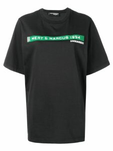 Dsquared2 Dsquared2 X Mert & Marcus 1994 logo T-shirt - Black