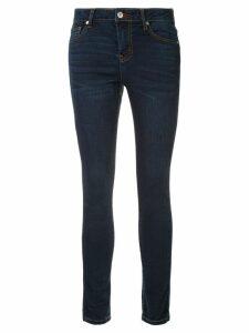Loveless mid-rise skinny jeans - Blue