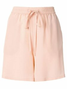 Red Valentino crepe de chine shorts - Pink
