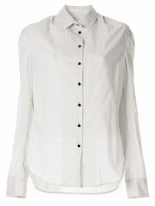 Olivier Theyskens striped shirt - White