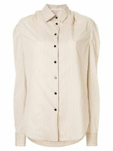 Olivier Theyskens striped shirt - NEUTRALS