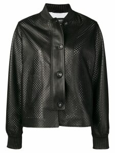 Simonetta Ravizza Ibiza leather jacket - Black