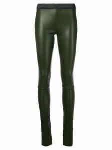 Drome panelled leggings - Green