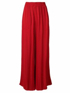Raquel Allegra wide leg trousers - Red