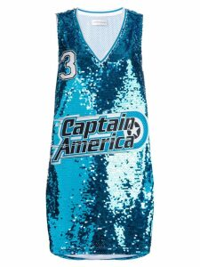 Faith Connexion Captain America jersey top - Blue