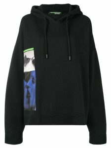 Dsquared2 oversized graphic print hoodie - Black