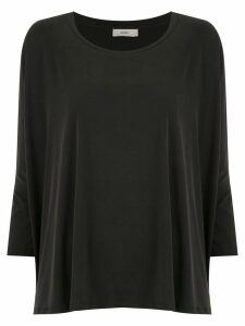 Egrey 7/8 sleeved top - Black