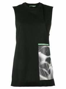Dsquared2 graphic print tank top - Black