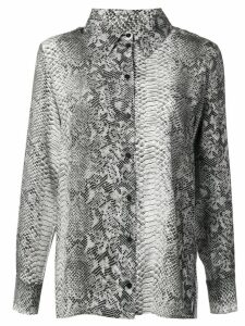 Gold Hawk python print blouse - Grey