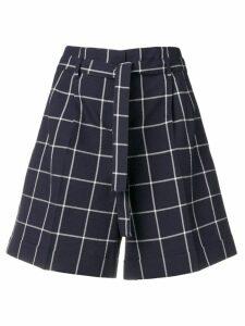 PS Paul Smith check shorts - Blue