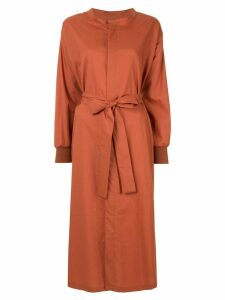 Frei Ea belted shirt dress - Brown