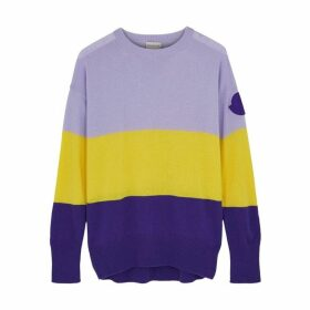 Moncler Colour-blocked Knitted Jumper