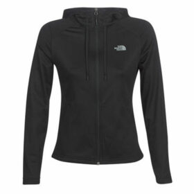 The North Face  WOMEN'S TECH MEZZALUNA HOODIE  women's Fleece jacket in Black