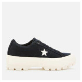 Converse Women's One Star Lugged Ox Trainers - Black/Egret - UK 8