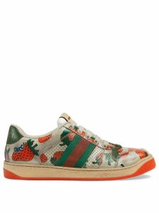 Gucci Screener Gucci Strawberry sneaker - White
