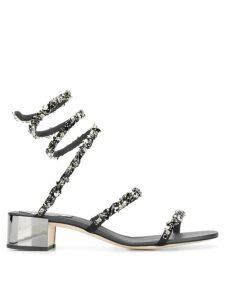 René Caovilla Cleo sandals - Black