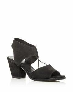 Eileen Fisher Women's Lino Block-Heel Sandals