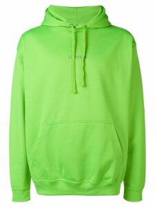 F.A.M.T. Unfollow printed hoodie - Green