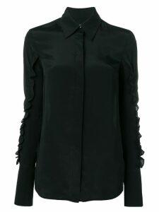 Victoria Victoria Beckham ruffle sleeves shirt - Black